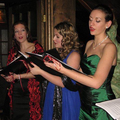 Chanteurs d'opéra à La Scala
