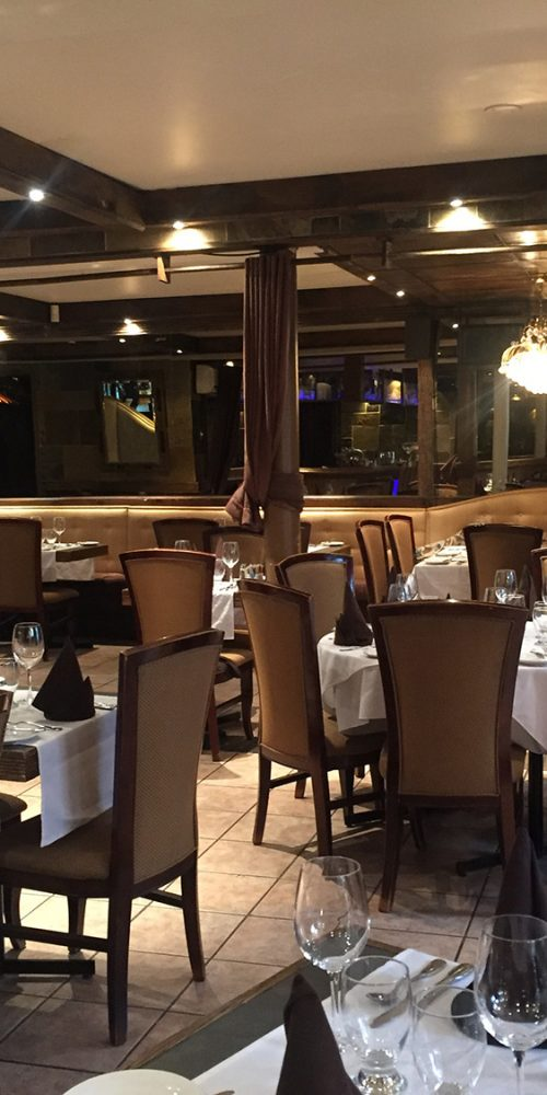 Interieur Restaurant Italien de Québec
