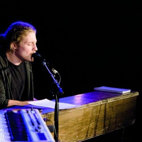 Guillaume Lecompte au piano bar La Scala