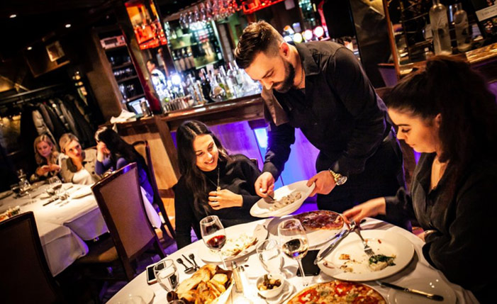 restaurant italien dans Montcalm Québec La Scala