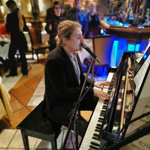 Guillaume Lecompte pianiste et chanteur